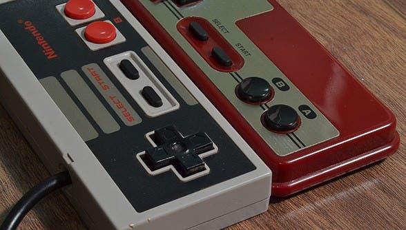 El mando de la NES está basado en los controles del 'Game & Watch' de Donkey Kong