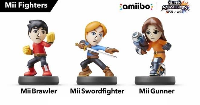 """En Norteamérica, los amiibo de los Luchadores Mii son exclusivos de Toys """"R"""" Us"""