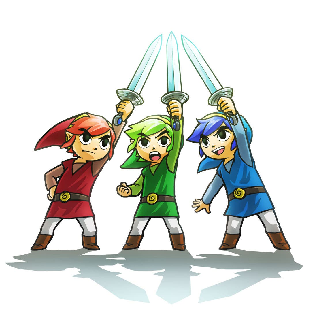Vídeo gameplay de todos los jefes finales de 'The Legend of Zelda: Triforce Heroes'