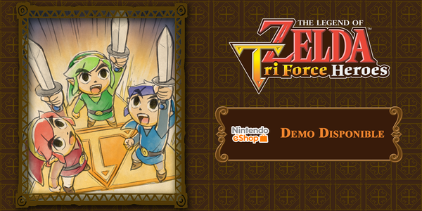 [Act.] Ya disponible en eShop la demo de 'Zelda: Triforce Heroes' para Europa