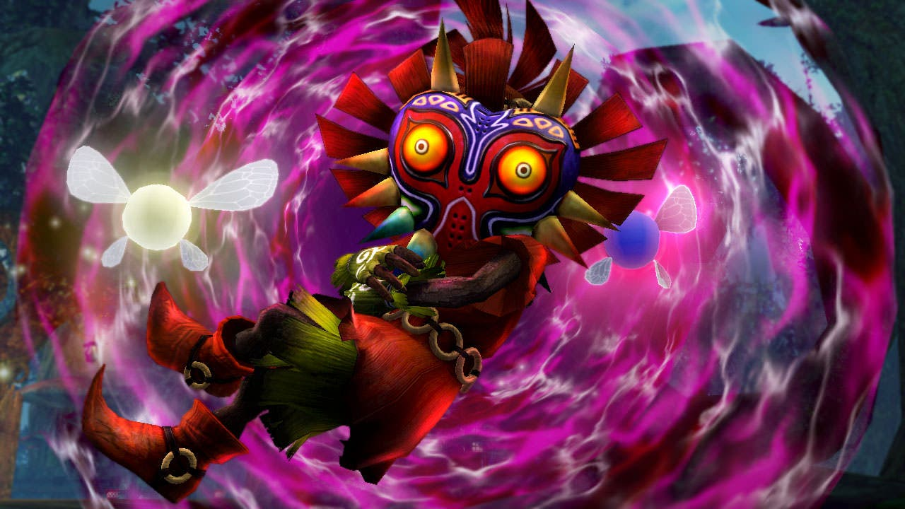 Skull Kid se muestra en un nuevo trailer de 'Hyrule Warriors Legends'