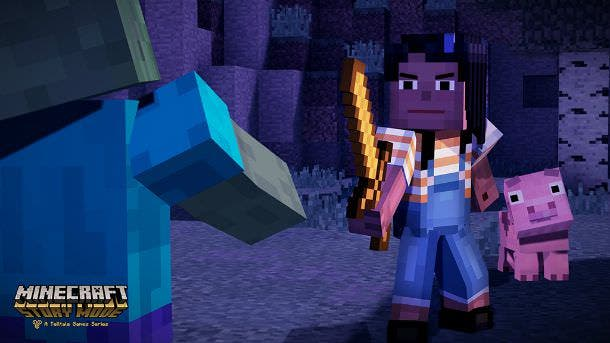 Amazon comparte el boxart y una posible fecha para Minecraft: Story Mode – The Complete Adventure