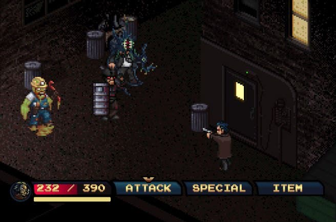 El JRPG 'Pixel Noir' basado en 'Earthbound', 'Sin City' y 'Shovel Knight' ya está de camino a 3DS