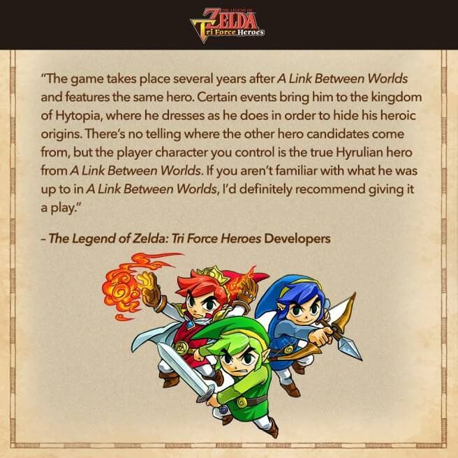 Extensa entrevista con Hiromasa Shikata, director de 'The Legend of Zelda: Tri Force Heroes'