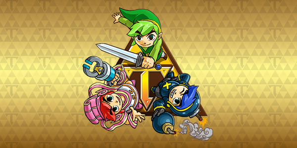 'The Legend of Zelda: Tri Force Heroes' recibe la actualización 2.1.0