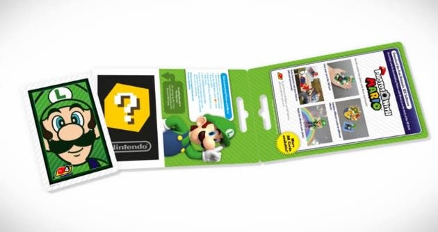 Las tarjetas de la eShop europeas incluirán cartas para 'Photos with Mario'