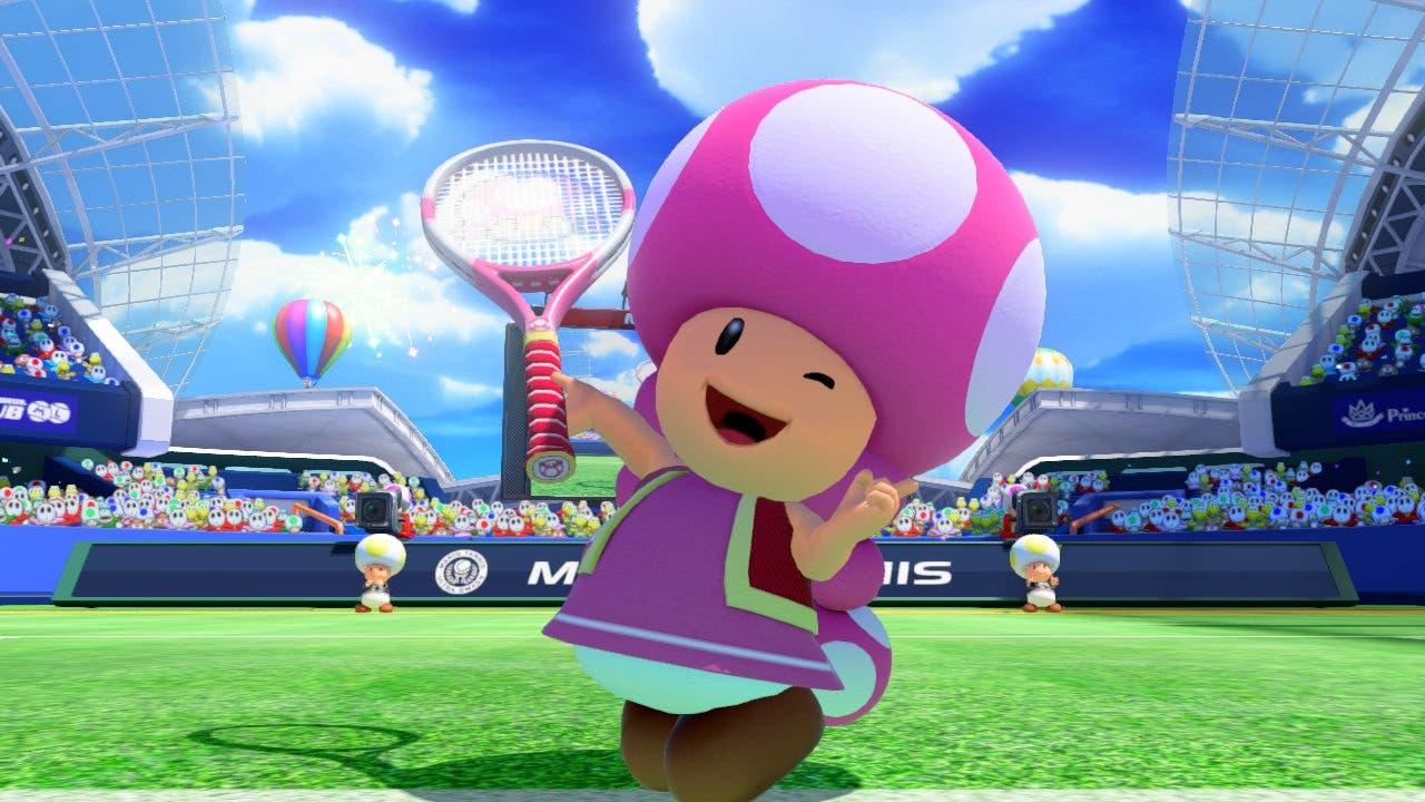 Nuevas imágenes de 'Mario Tennis: Ultra Smash' con Toadette como protagonista