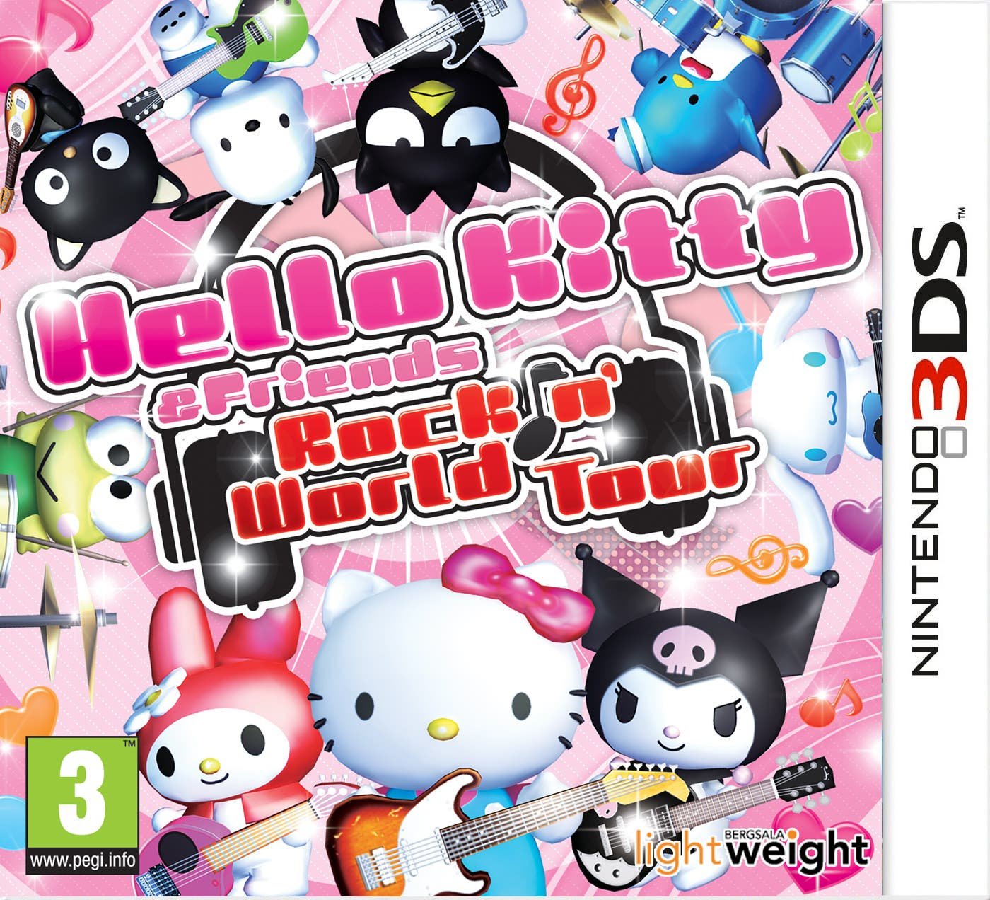 Nuevo trailer para Europa y fecha de salida para 'Hello Kitty & Friends: Rockin' World Tour'