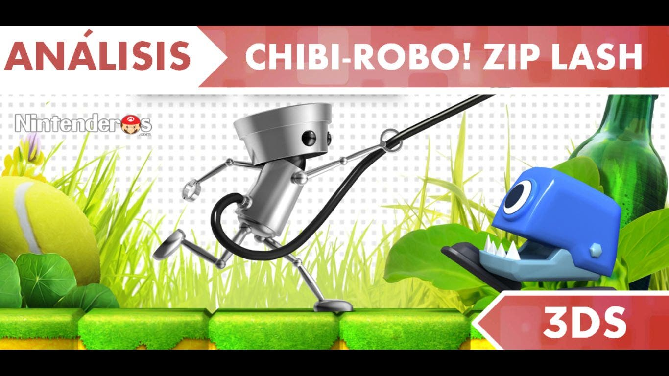 [Análisis] 'Chibi-Robo! Zip Lash'