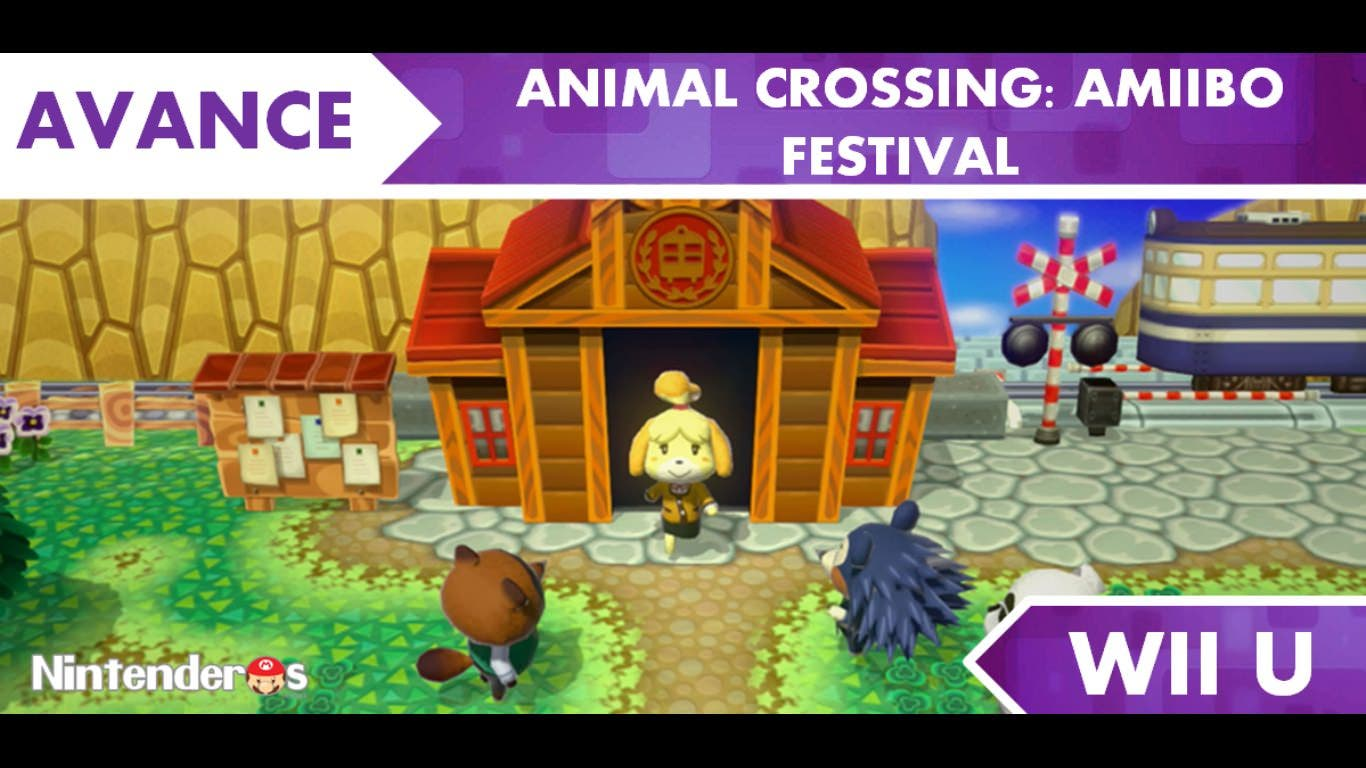 [Avance] 'Animal Crossing: amiibo Festival'