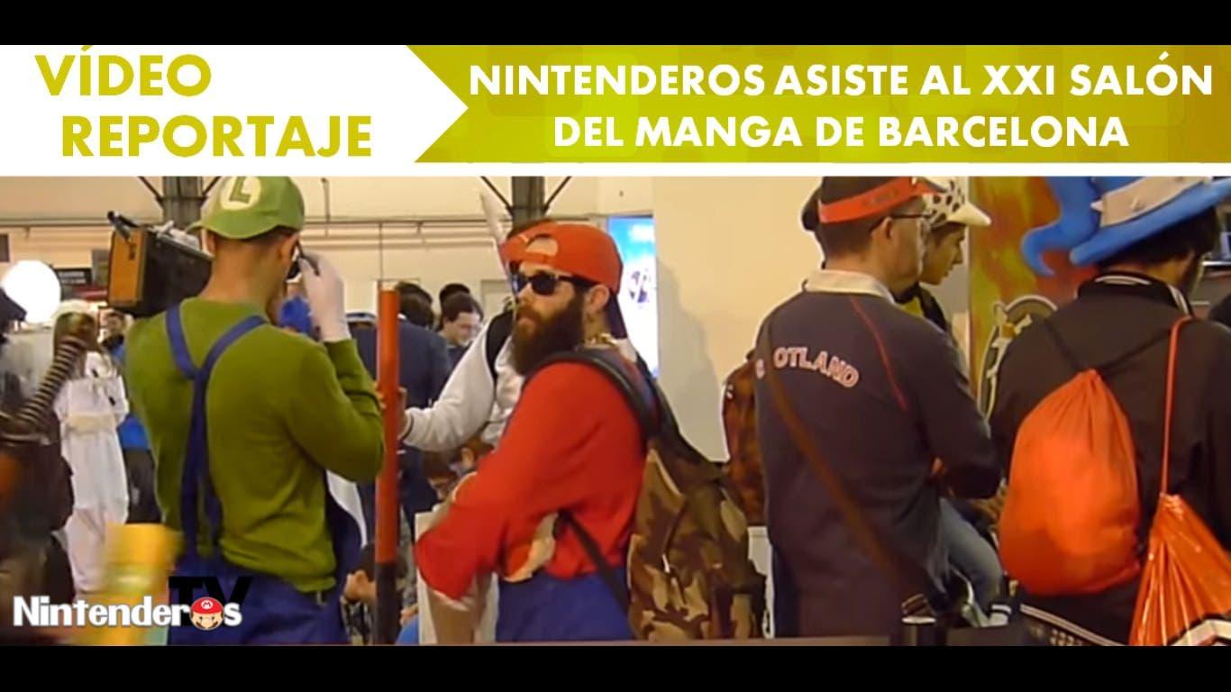 [Vídeo-reportaje] Nintenderos asiste al XXI Salón del Manga de Barcelona
