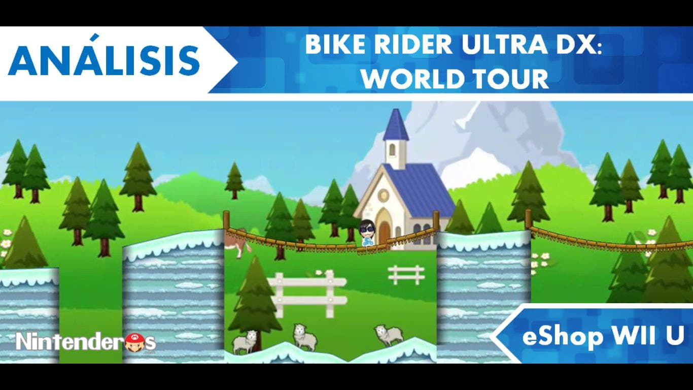 [Análisis] 'Bike Rider UltraDX – WORLD TOUR' (eShop Wii U)