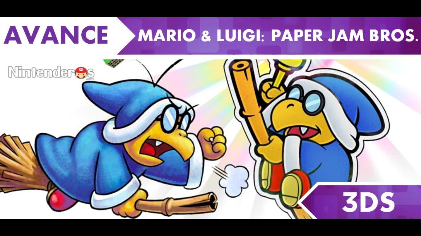 [Avance] 'Mario & Luigi: Paper Jam Bros.'
