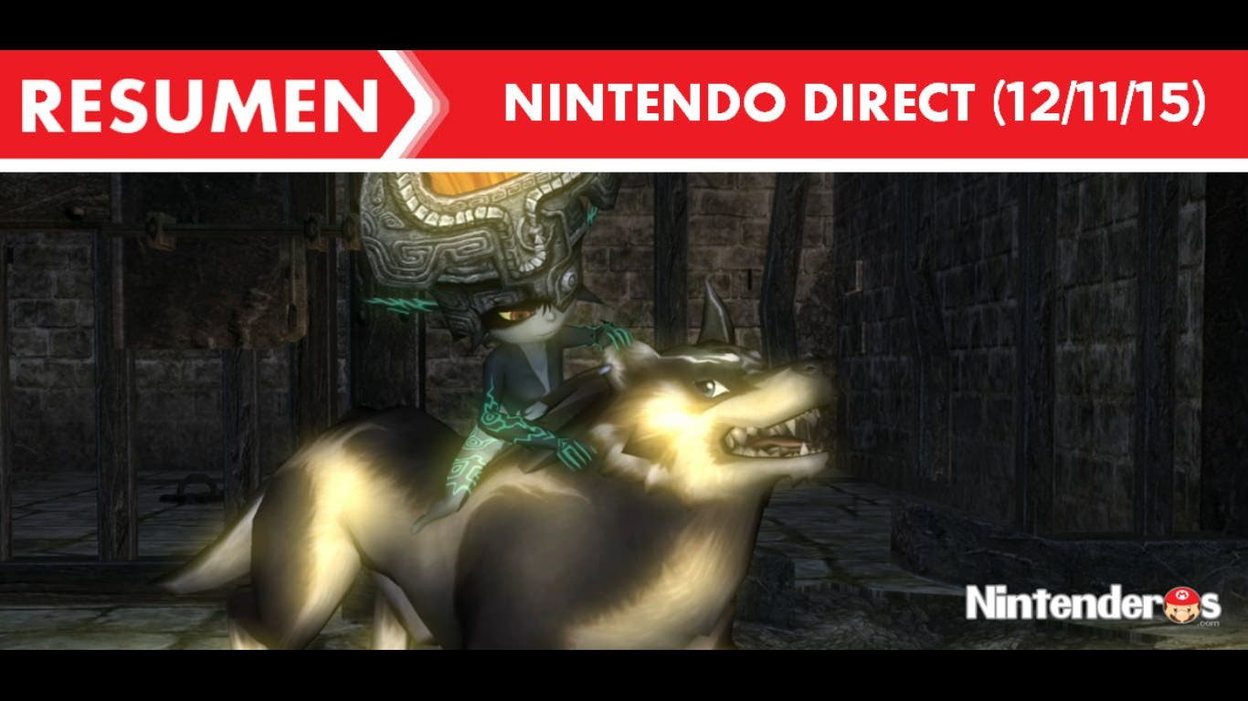 Resumen del Nintendo Direct (12/11/2015)