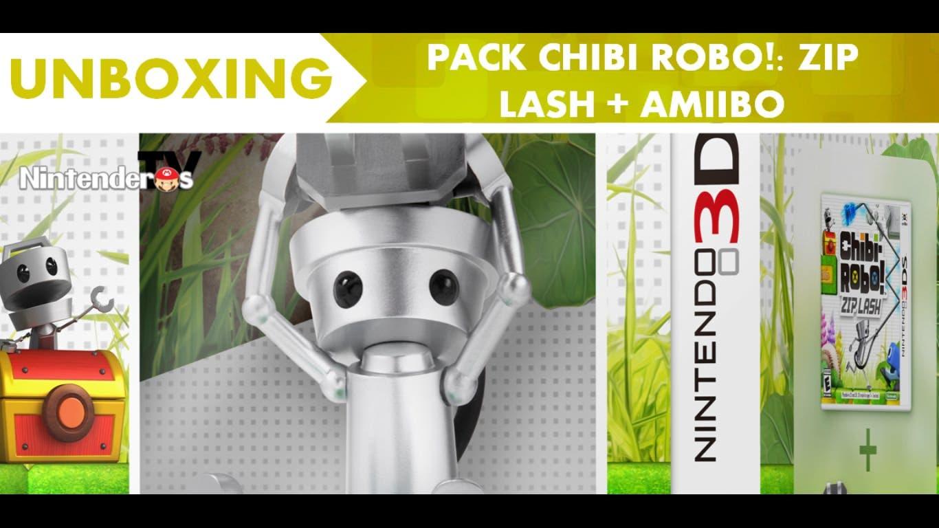 [Unboxing] Pack de 'Chibi-Robo! Zip Lash' + amiibo – NintenderosTV