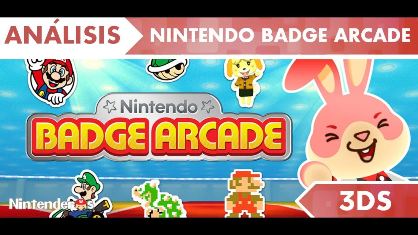 [Análisis] 'Nintendo Badge Arcade'