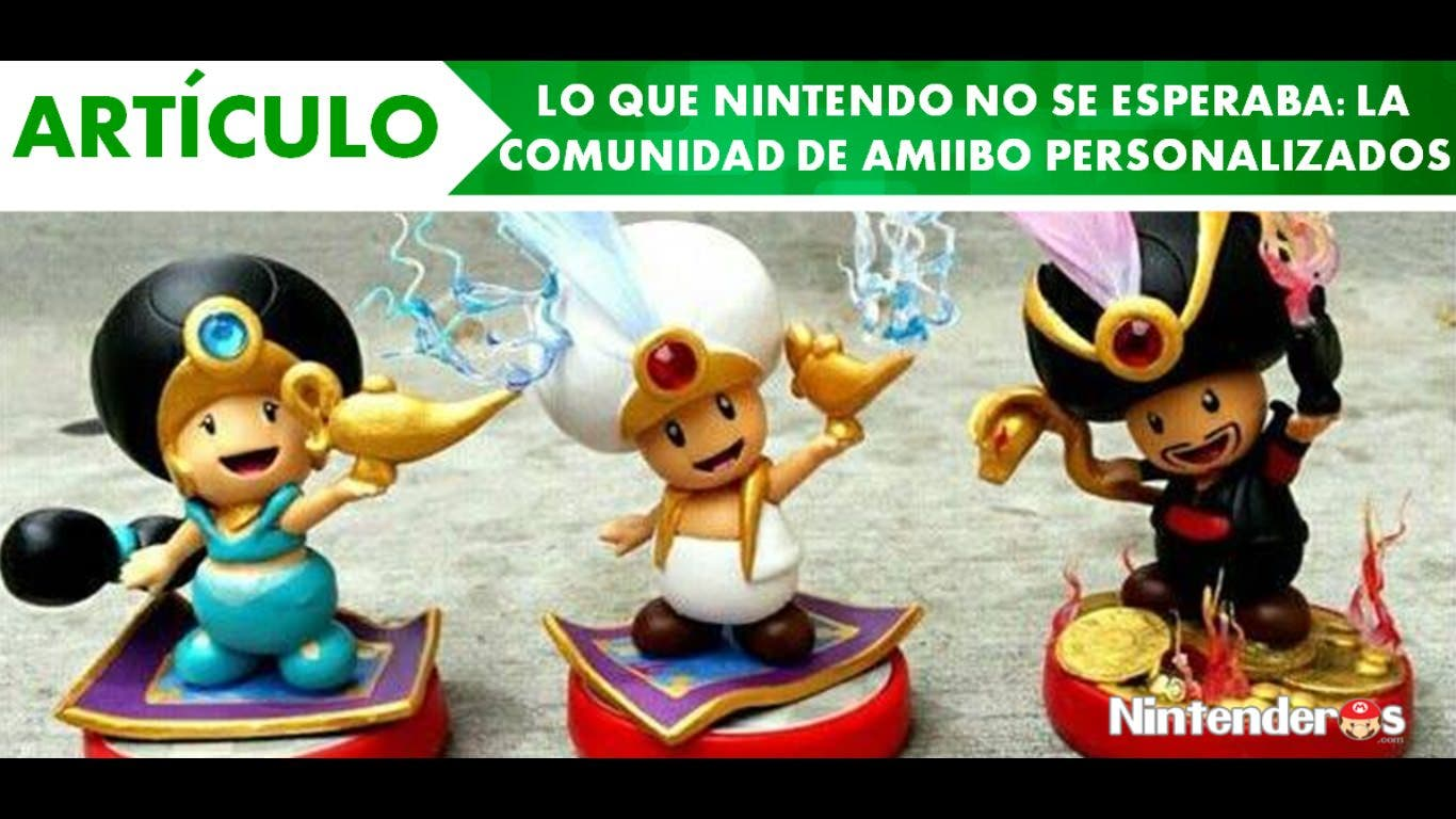 [Artículo] Lo que Nintendo no se esperaba: la comunidad de amiibo personalizados
