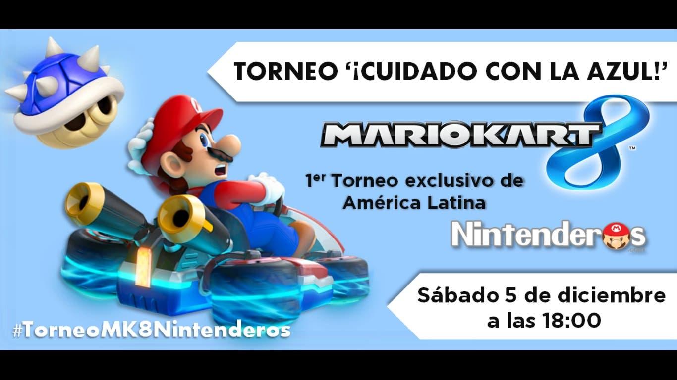 1º Torneo Continental 'Mario Kart 8': América   ¡Cuidado con la azul!