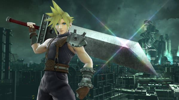 Vídeo análisis de los distintos movimientos de Cloud en 'Super Smash Bros.'