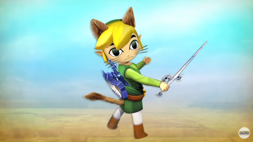 Colaboración de 'Wind Waker' y 'Macross Delta' en 'Monster Hunter X'