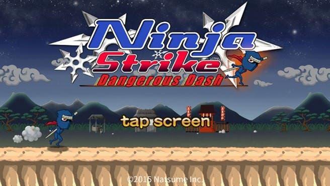 'Ninja Strike: Dangerous Dash' llegará la próxima semana a la eShop de Wii U