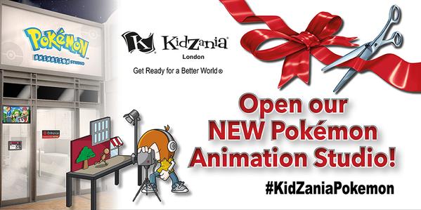 Pokémon Animation Studio ya está abierto en KidZania Londres