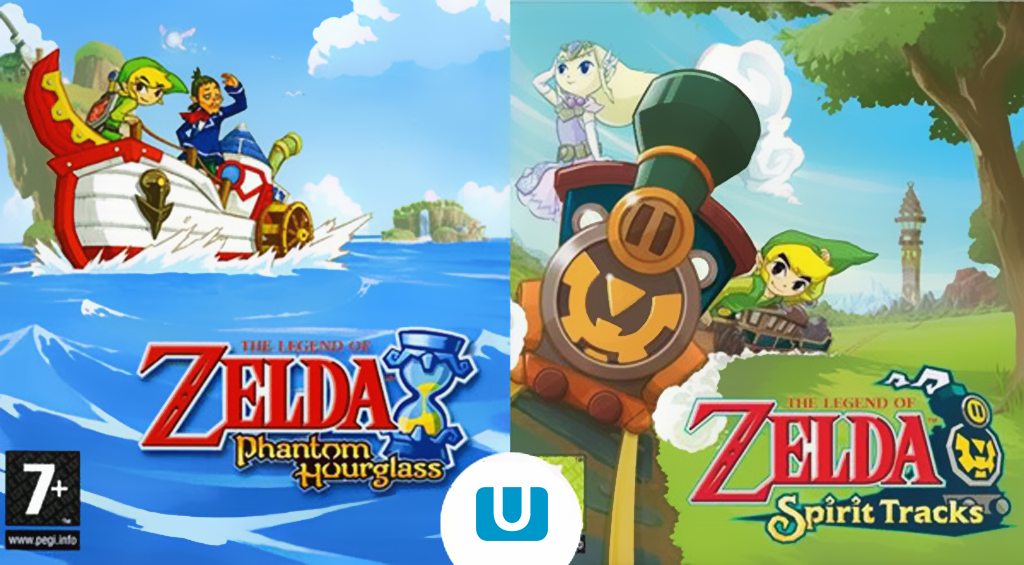 'The Legend of Zelda: Phantom Hourglass' y 'The Legend of Zelda: Spirit Tracks' saldrán en la eShop de Wii U