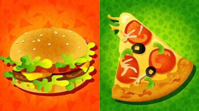 Pizza o hamburguesa, protagonistas en el próximo Splatfest norteamericano