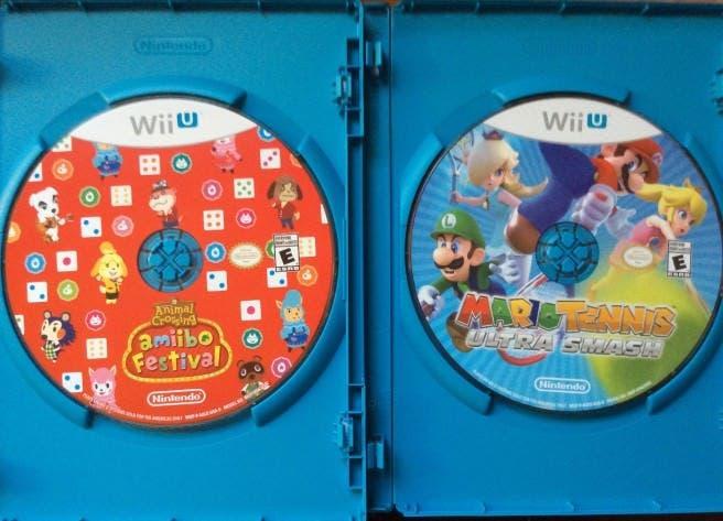 Echa un vistazo a los discos de 'Animal Crossing: amiibo Festival' y 'Mario Tennis: Ultra Smash'