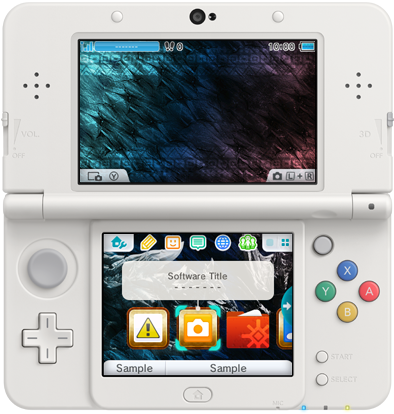 Se muestran nuevos temas de 3DS para Japón (25/11/15)