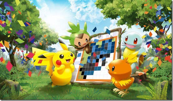 Echa un vistazo a media hora de gameplay de 'Pokémon Picross'