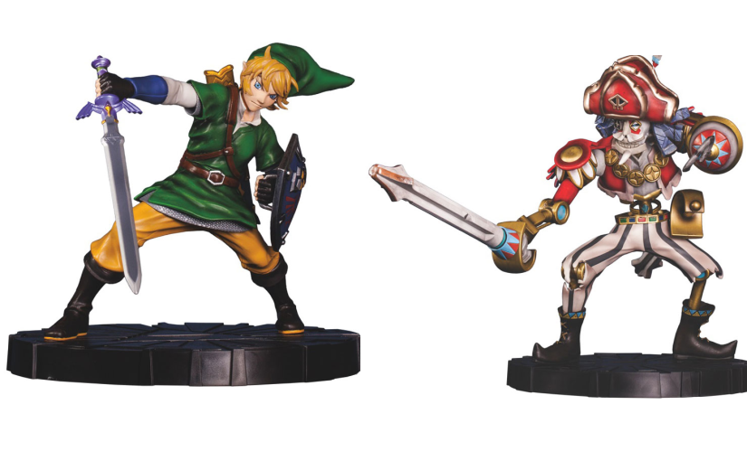 Espectaculares figuras de 'Skyward Sword' en GameStop