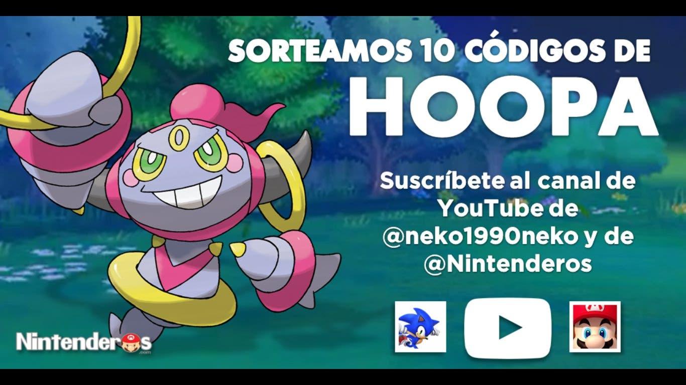 [Sorteo] ¡Consigue uno de los 10 códigos de Hoopa que sorteamos junto a Neko!