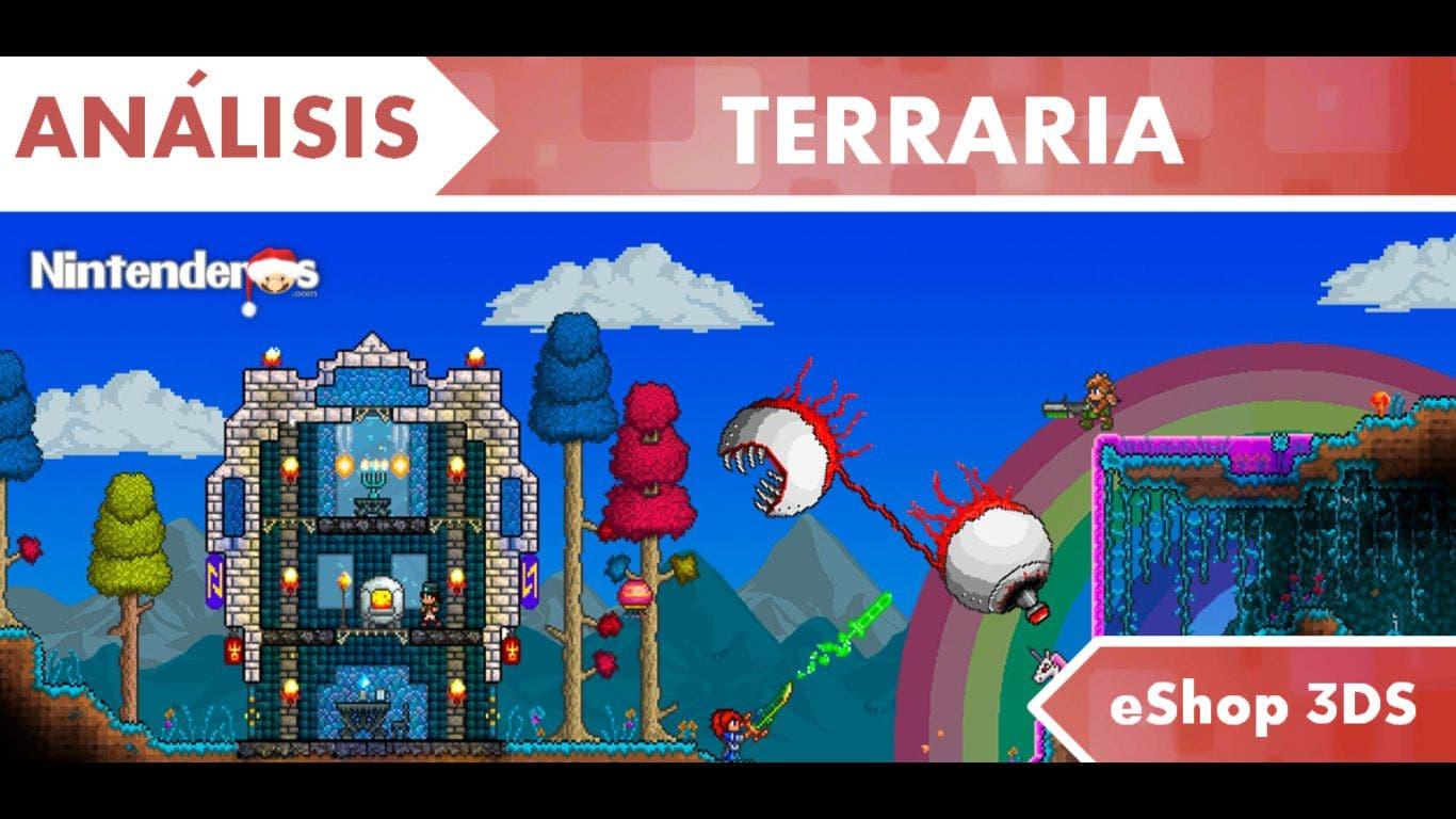 [Análisis] 'Terraria' (eShop 3DS)