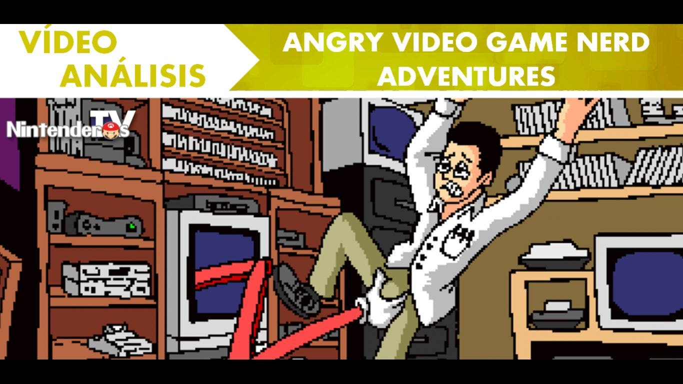 [Vídeo-Análisis] 'Angry Video Game Nerd Adventures' (eShop Wii U)