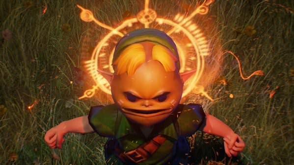 Transformaciones de las Máscaras Goron, Zora y más de 'Zelda: Majora's Mask' con Unreal Engine 4