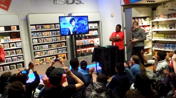 Así reaccionaron los asistentes de la NWS a los anuncios de la Presentación Final de 'Smash Bros.'