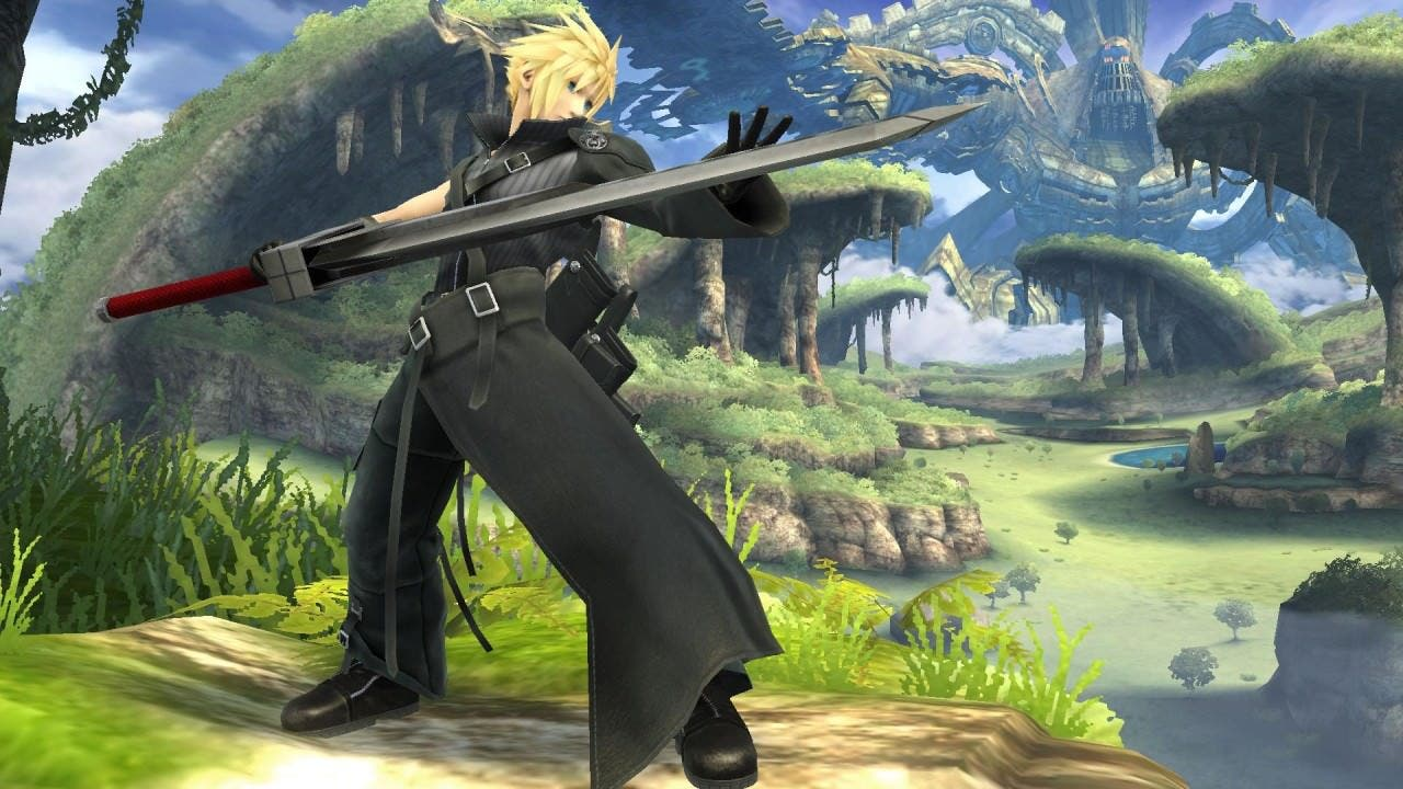 Cloud en Super Smash Bros.