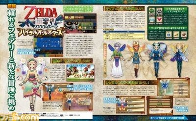 La nueva función «Mi Hada» y el Gran Mar de 'The Wind Waker' llegan a 'Hyrule Warriors Legends'