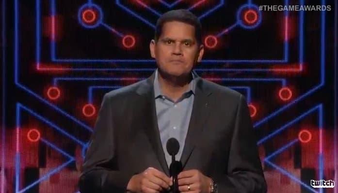 Reggie estará presente en los The Game Awards 2016