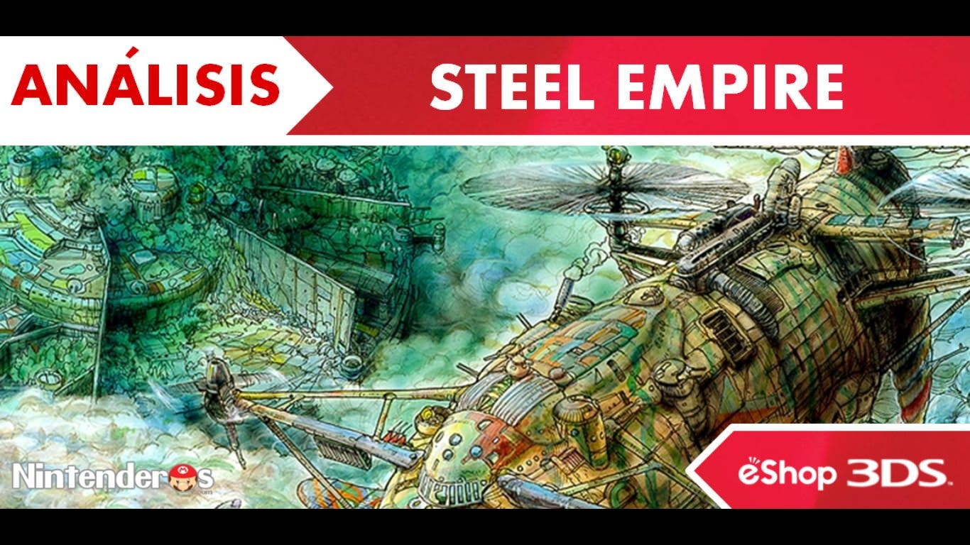 [Análisis] 'Steel Empire' (eShop 3DS)