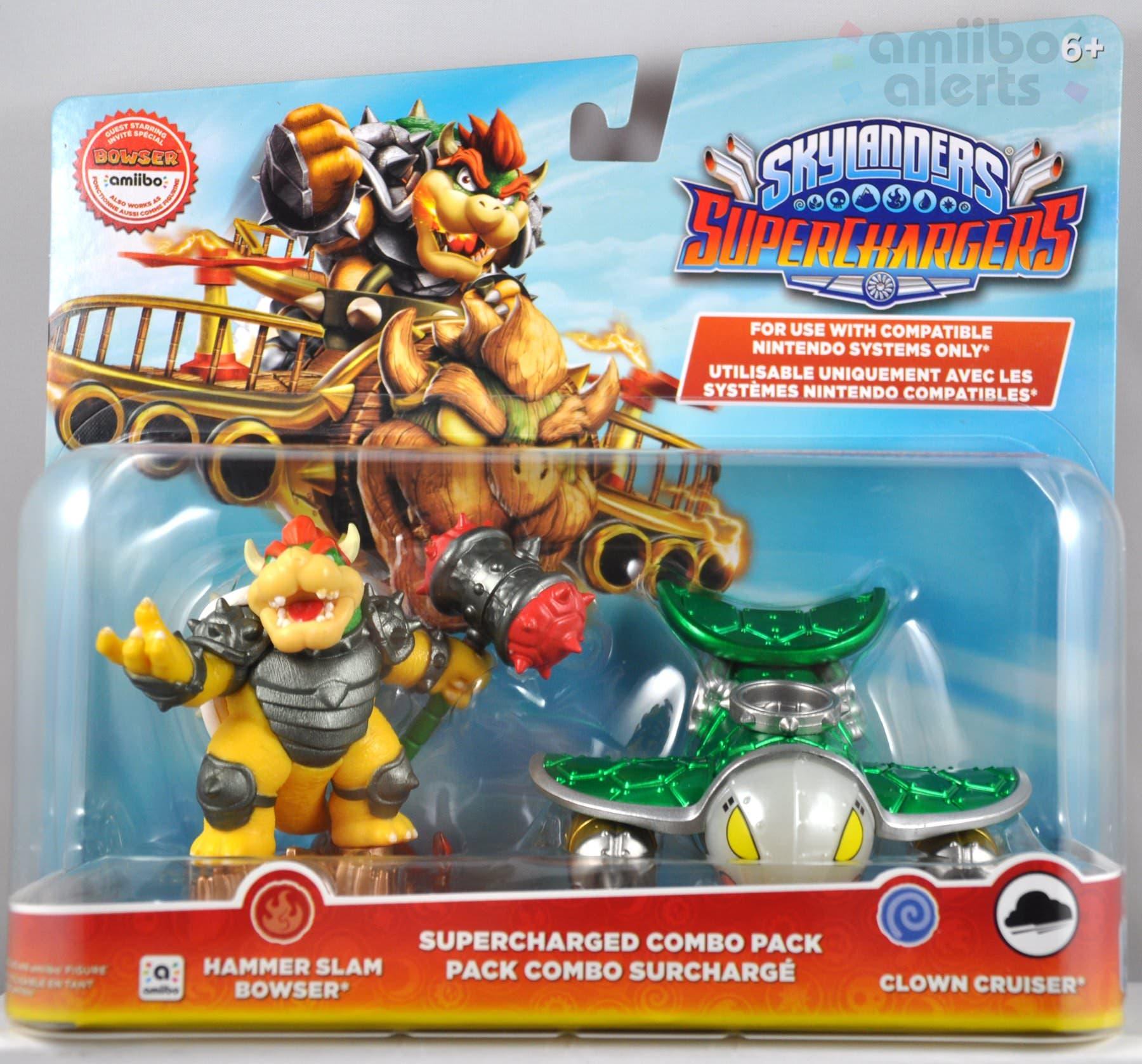 Así lucen las cajas de los amiibo Skylanders de Bowser y Donkey Kong