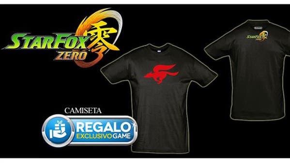 Reserva 'Star Fox Zero' en GAME España y llévate esta camiseta de regalo