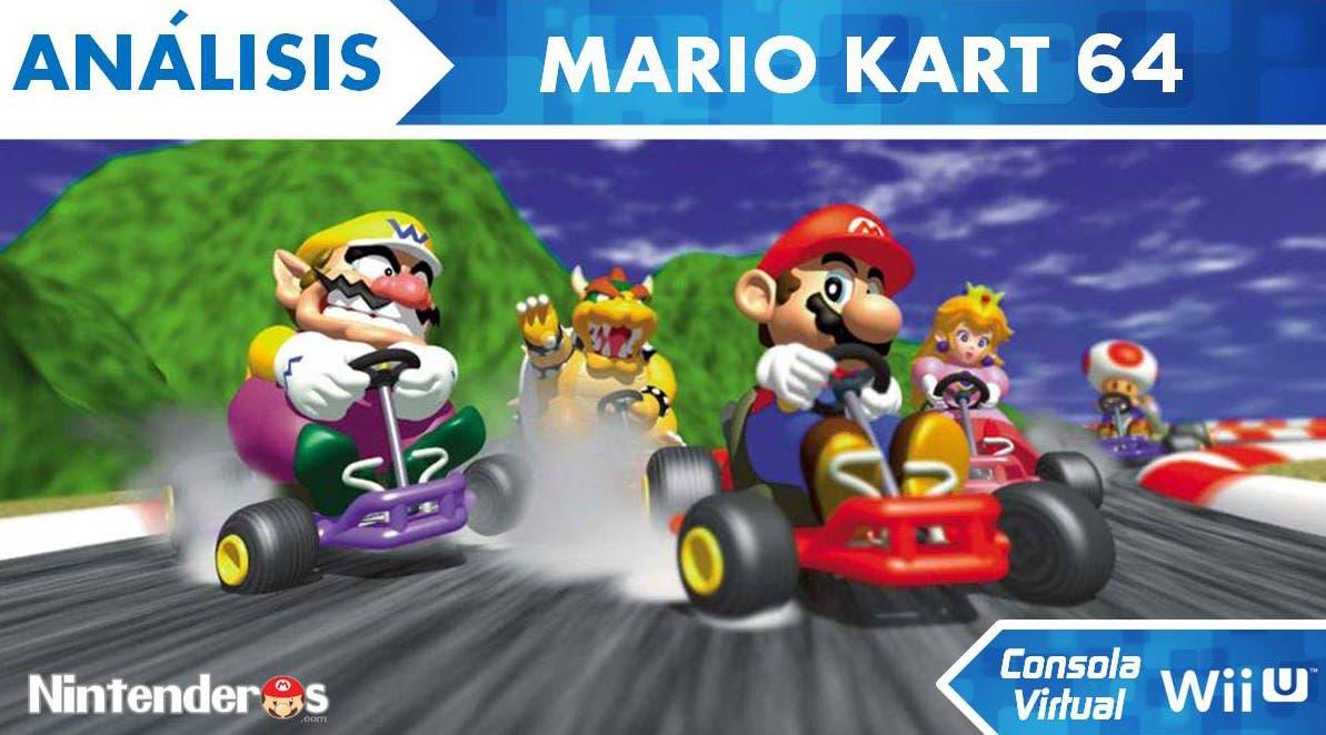 [Análisis] 'Mario Kart 64' (CV de Wii U)