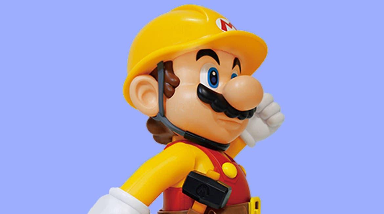 Esta figura oficial de Mario Constructor llegará a Japón el próximo mes