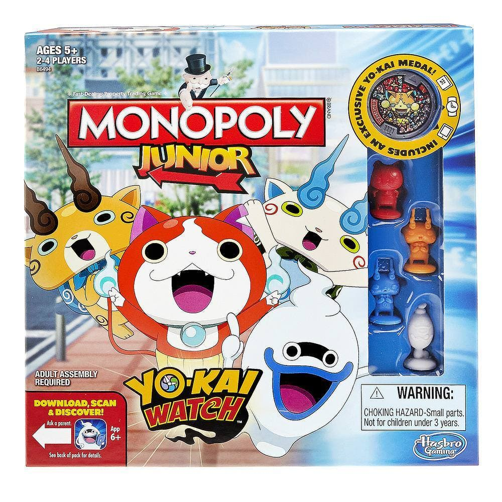 Anunciadas versiones de Game of Life y Monopoly Junior de 'Yo-Kai Watch'