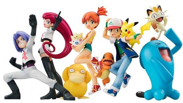 La compañía Megahouse presenta sus próximas figuras de 'Pokémon'