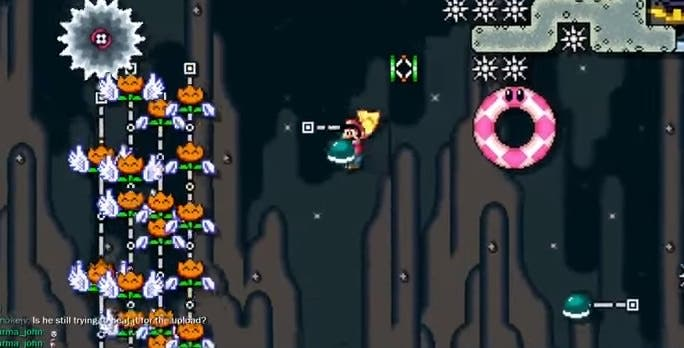 Echa un vistazo al último nivel imposible de 'Super Mario Maker': 'The Cape Escape'