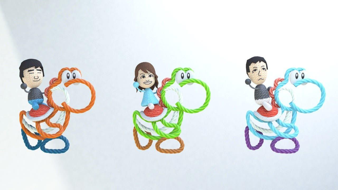 Curiosas imágenes nos muestran elementos no usados y bocetos de 'Yoshi's Woolly World'