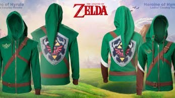 Merchoid lanzará sudaderas por el 30 aniversario de 'The Legend of Zelda'